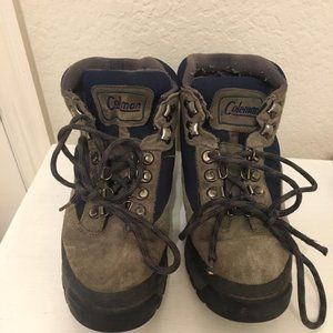 Coleman hiking boots - size 8